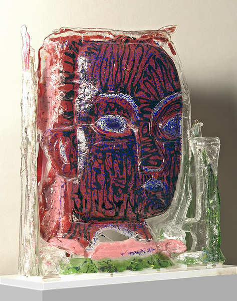 Gerd Sonntag, glass, verre, Glas, Kunst, Art, paintings